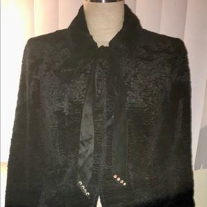 Nanette Lepore crushed velvet blazer 2 skirt 4